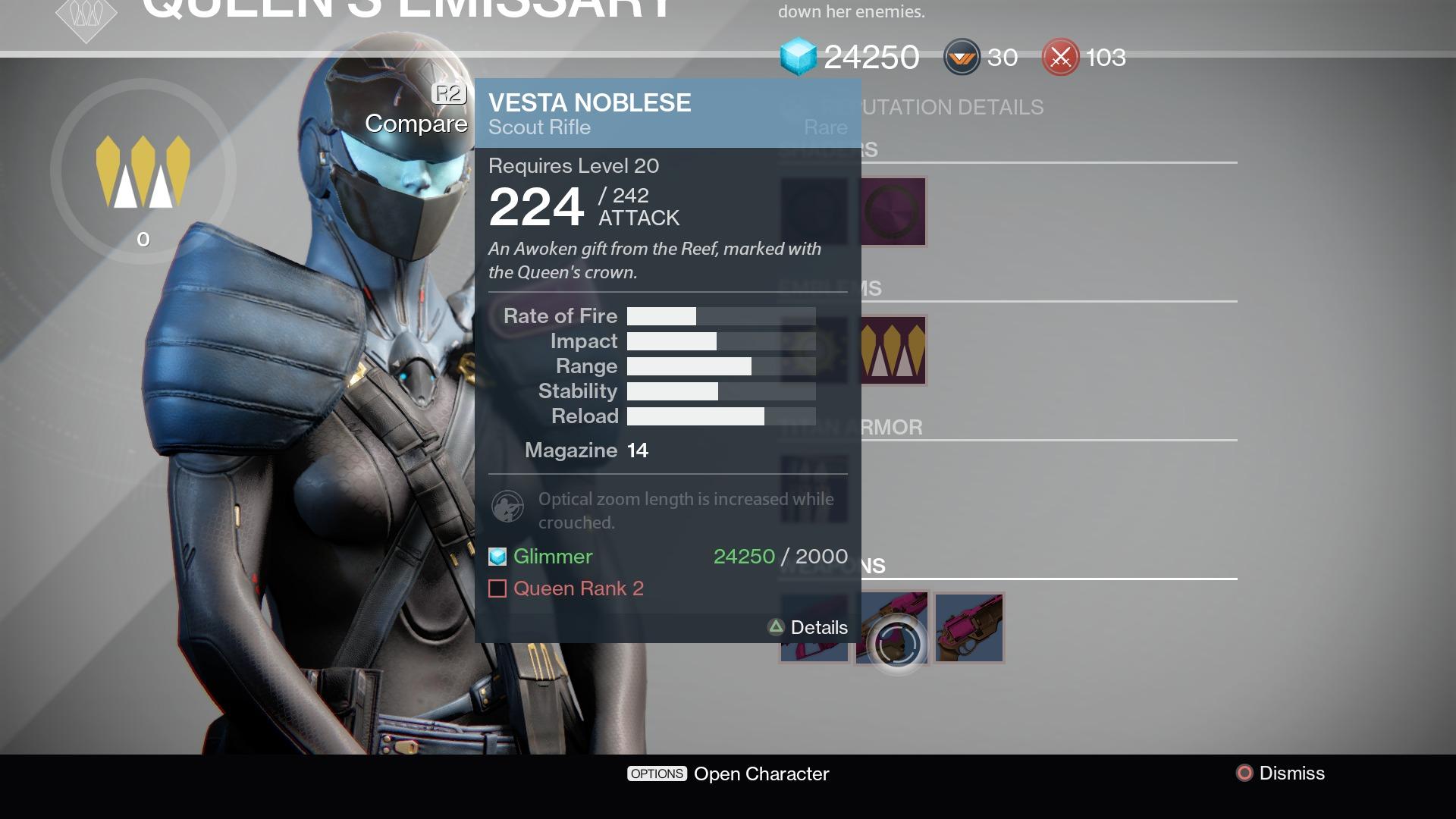 Destiny Queen's Wrath vendor Petra Venj location and rewards | 1920 x 1080 jpeg 276kB