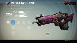Vesta Noblese, Scout Rifle