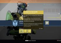 Exotic Weapon Bounties