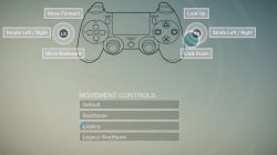 legacy movement controls