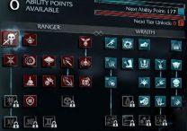 shadow of mordor abilities list