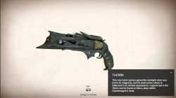 Thoren Exotic Handgun