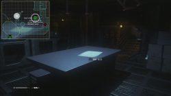 Alien Isolation EMP Mine Version 2 Location