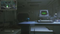Alien Isolation Investigate Lingards Office for Information