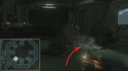 Alien Isolation Investigate Rooms on Dr. Morley's Rounds