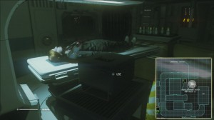 Alien Isolation Trauma Kit Location