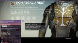 Hunter Iron Regalia Vest