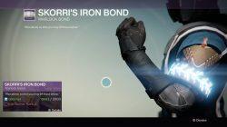 Warlock Skorri's Iron Bond