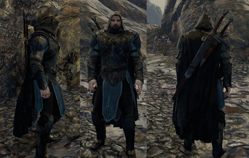 Shadow of Mordor Dark Ranger skin