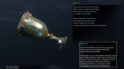 Shadow of Mordor Artifact Harad Basin Ritual Cup