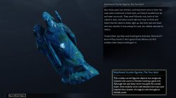Shadow of Mordor Artifact Nurnen Peninsula Weathered Azurite Figurine