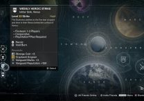Weekly Heroic Nightfall strike The Nexus