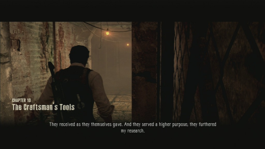 The Evil Within Chapter 10 The Craftman's Tools