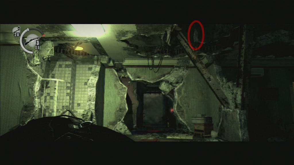The Evil Within Chapter 13 Casualties 4th Floor Key Stone Statue