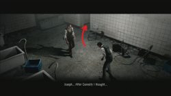 The Evil Within Leave the area with Joseph
