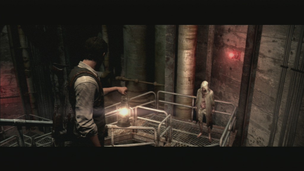 The Evil Within How to Escape from 6 Legged Creature