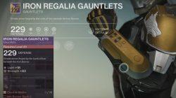 Titan Iron Regalia Gauntlets