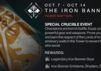 destiny iron banner event