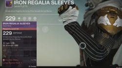 hunter iron regalia sleeves