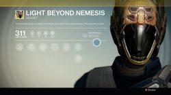 light beyond nemesis
