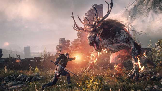 The Witcher 3 Ingame Screenshot
