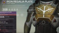 titan iron regalia plate