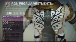 warlock iron regalia vestments