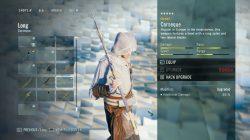 AC Unity Corseque Long Weapon