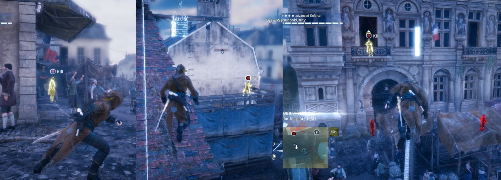 AC Unity Heads will Roll Kill the Templars Objective