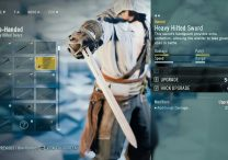 AC Unity Heavy Hilted Sword