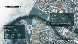 AC Unity Jupiter Nostradamus Enigma Map Location