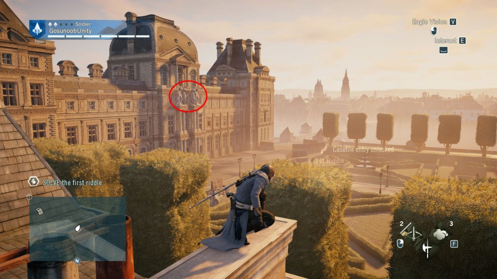 AC Unity Libra Nostradamus Enigma First Riddle Solution