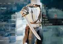 AC Unity Messer One-Handed Weapon