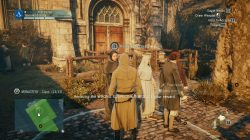 AC Unity Murder Foretold Clue Location Accuse Friar Honore