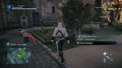 AC Unity Murder Mystery Hot Chocolate to Die for Garden
