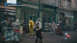 AC Unity The Assassination of Jean-Paul Marat Apothecary Stall