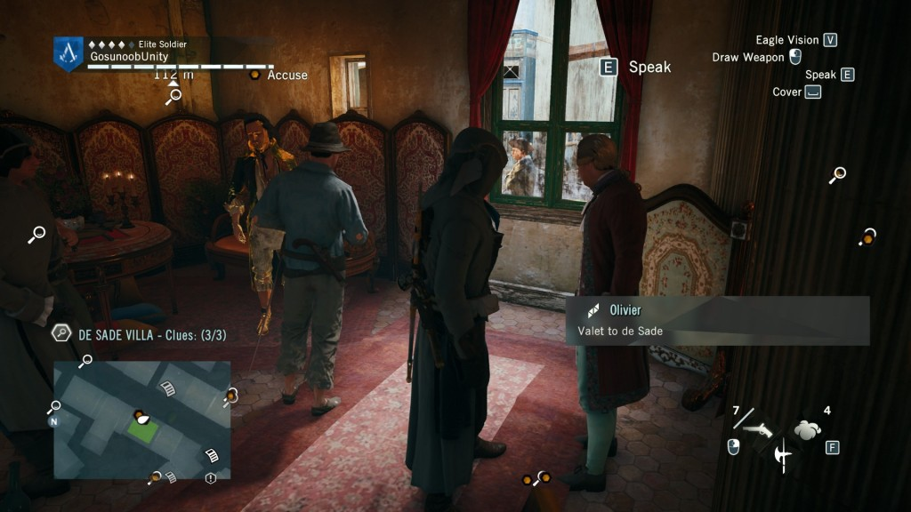 AC Unity The Body in the Brothel Find the Murderer