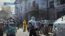 AC Unity The Death of Philibert Aspairt Murder Mystery Apothecary Stand