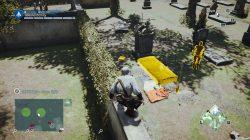 AC Unity Murder Mystery The Death of Philibert Aspairt Graveyard