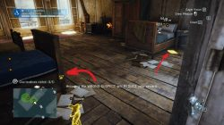 AC Unity The Hand of Science Murder Mystery Bedroom