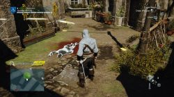 AC Unity The Hand of Science Murder Mystery Courtyard