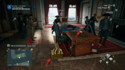 AC Unity The Red Ghost Murder Mystery Von Gluck Mansion Clues