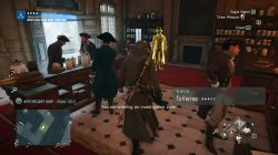 AC Unity The Red Ghost of the Tuileries Counselors Apothecary Shop Clue