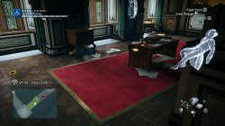 AC Unity The Red Ghost of the Tuileries Office Clues