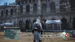 AC Unity The Tournament Third Sync Point Location