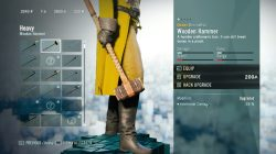 AC Unity Wooden Hammer