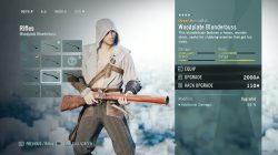 AC Unity Woodplate Blunderbuss Range Weapon