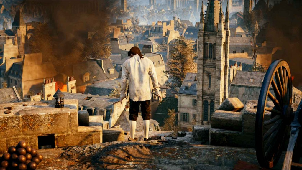 Assassins-Creed-Unity-Sequence-2-Memory-1-Jumping-Ledge Image