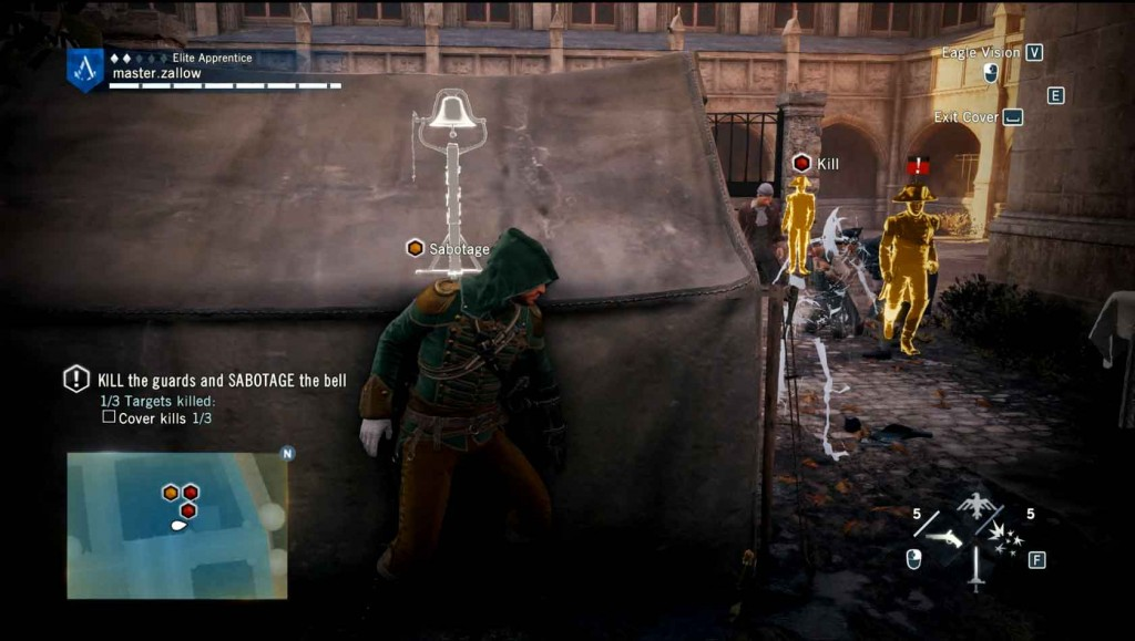 Assassins-Creed-Unity-Sequence-3-Memory-1-Graduation-Baiting-the-Guards Image