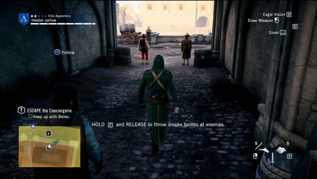 Assassins-Creed-Unity-Sequence-3-Memory-1-Graduation-Smoke-Bombs Image